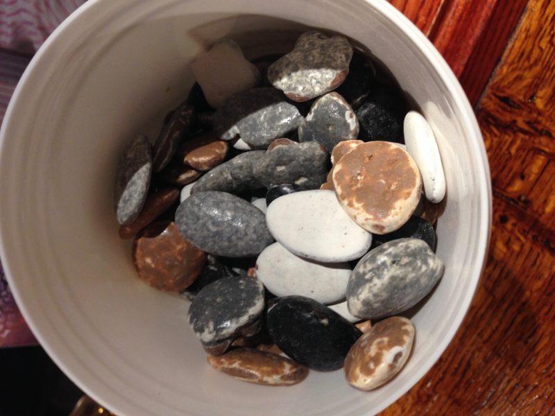 chocolate stones