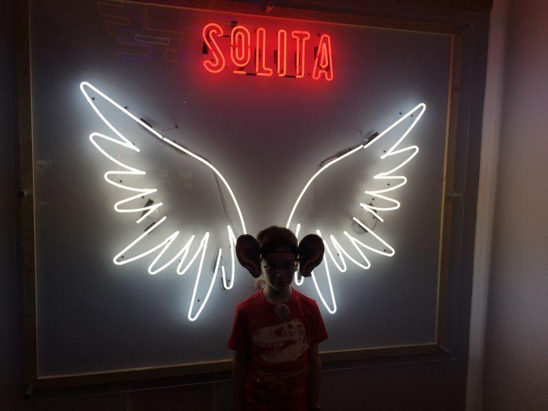 Solita neon wall