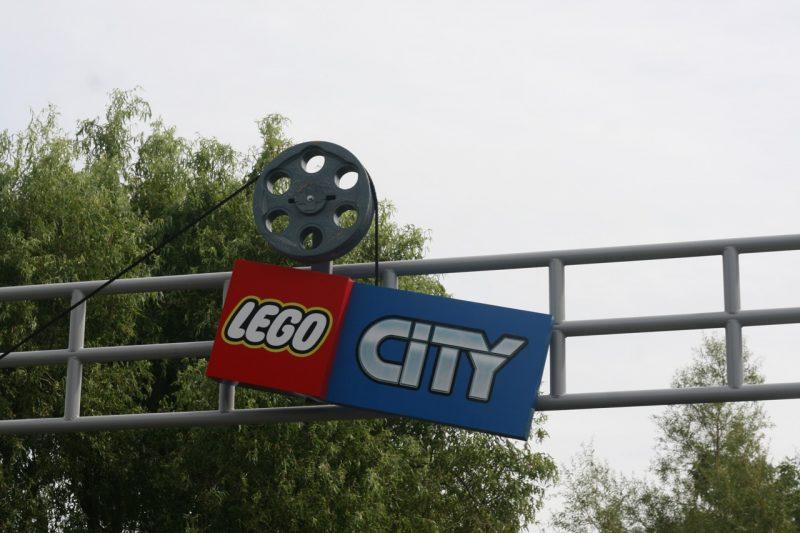 Lego city sign