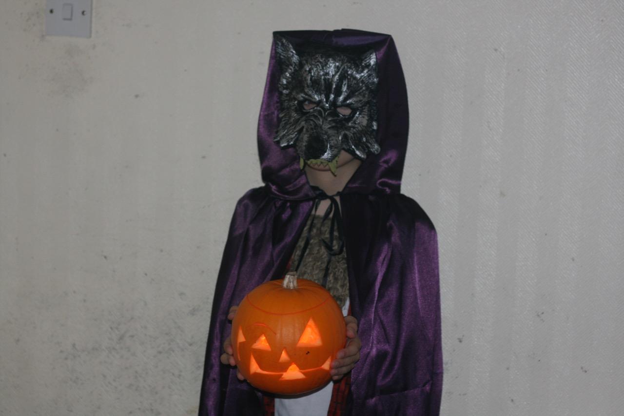 me in my werewolf costume